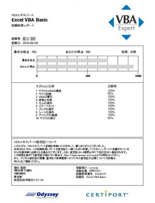 VBAエキスパート奮闘記